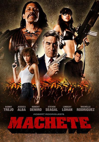 Рецензия к фильму Мачете (2010)