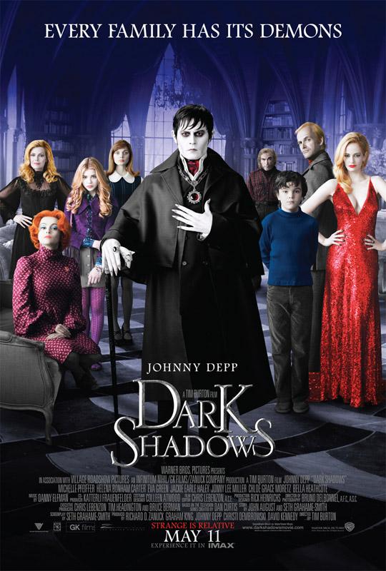 Постер «Мрачные тени»
