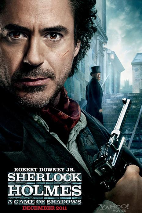 """Шерлок Холмс: Игра теней"" (2011) Постер"