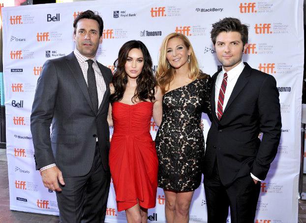 Актеры на премьере фильма в Торонто