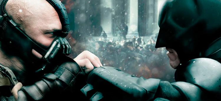 Бэйн против Бэтмена